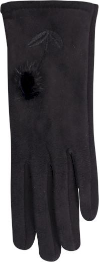 Dámské rukavice R-148 černá - Yoclub