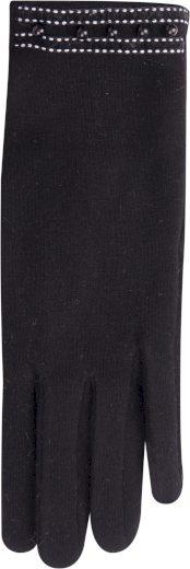 Dámské rukavice R-138 černá - Yoclub