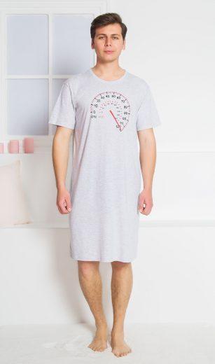 Pánská noční košile s krátkým rukávem Tachometr - Gazzaz
