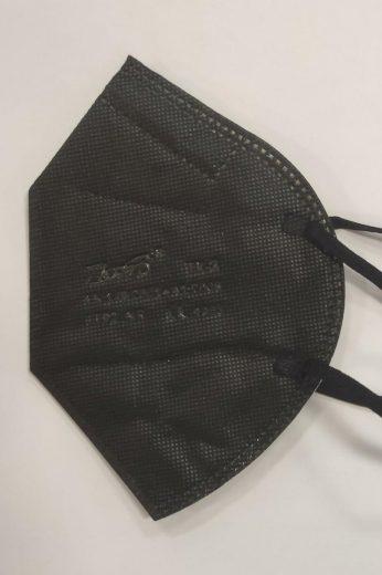 Ochranné masky FFP2 Černá, komplet = 10 kusů