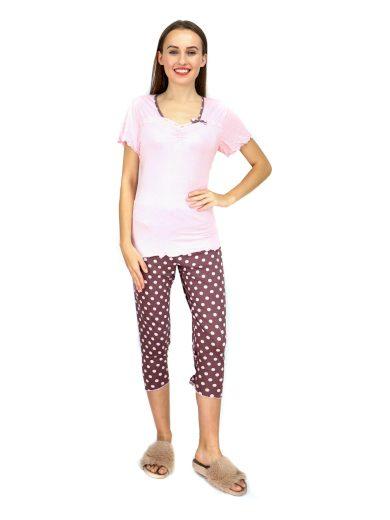 Dámské pyžamo 570-KK růžovohnědá - Cocoon Secret