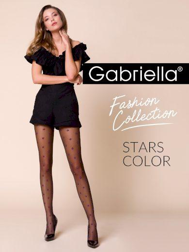 Dámské punčochové kalhoty 458 Stars Color - Gabriella