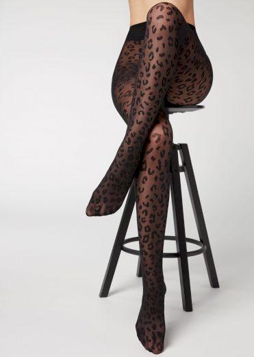 Dámské punčochové kalhoty LEOPARDO 20 - Veneziana