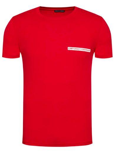 Pánské tričko 111035 1P727 06574 červená - Emporio Armani