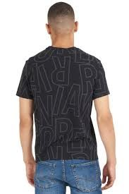Pánské tričko 211818 1P463 00020 černá - Emporio Armani