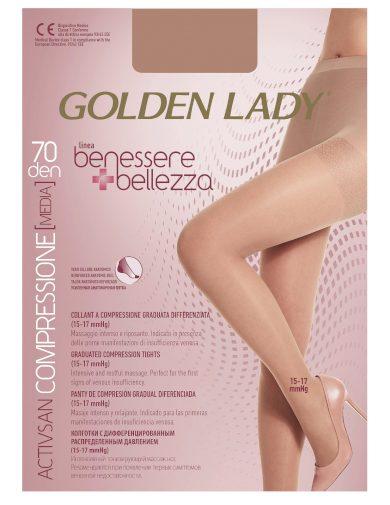Dámské punčochové kalhoty Benessere / Bellezza 70 den - Golden Lady
