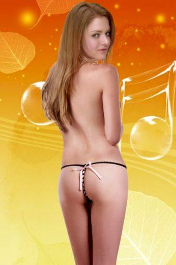 Erotická tanga SLH-50221 černá - Alexis