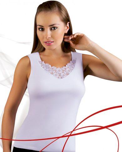Dámská košilka Berta plus white - EMILI