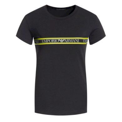 Pánské tričko 111035 9A525 00020 černá - Emporio Armani