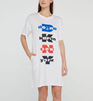 Dámská noční košile YI2322403-100 vícebarevná - DKNY