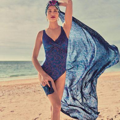 Nelly jednodílné plavky 7269 bleu royal - Anita Classix