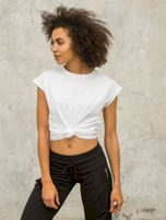 Dámské bílé tričko FOR FITNESS