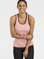 Pudrově růžový sportovní top TOMMY LIFE