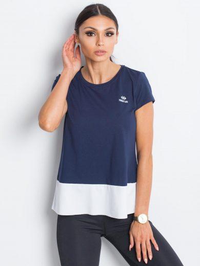 Tmavě modré sportovní tričko TOMMY LIFE