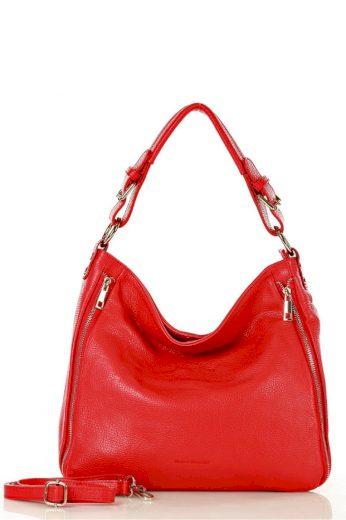 Dámská přírodní kožená taška model 140754 - Mazzini