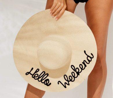 Slaměný plážový klobouk TR482 - Noidinotte