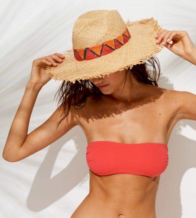 Slaměný plážový klobouk TR483 - Noidinotte