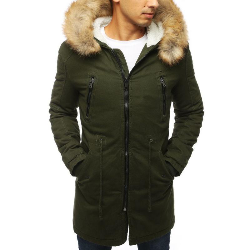 Pánská FALL / WINTER bunda parka zimní s kapucí