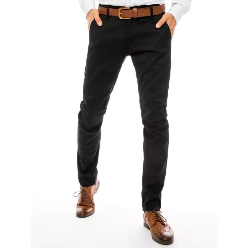Pánské chino kalhoty černé