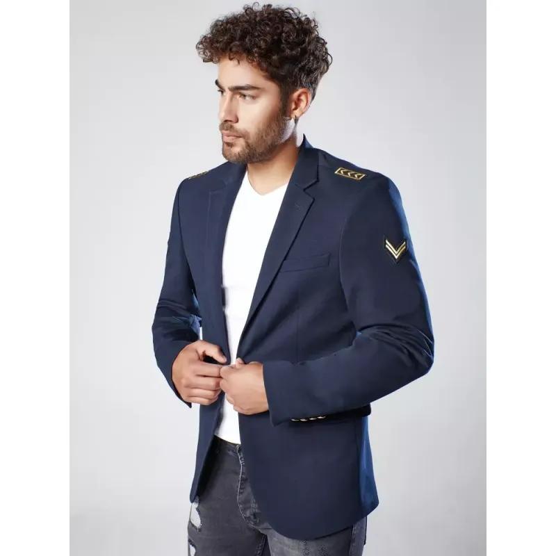 Pánské sako modré RANK