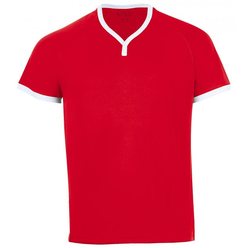 SOL'S ATLETICO Red / White