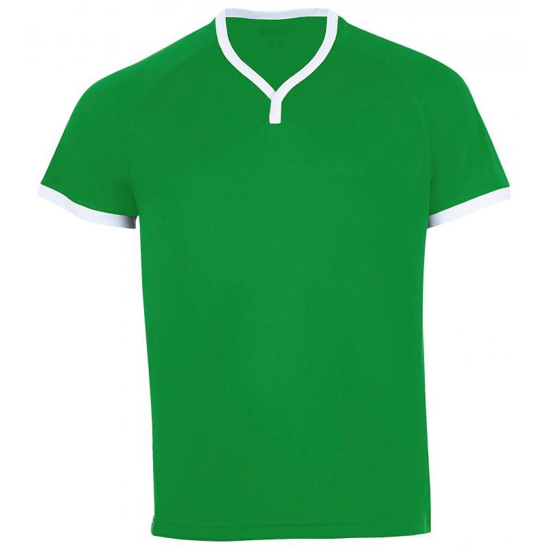 SOL'S ATLETICO Bright green / White