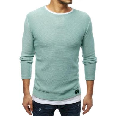Pánský MODERN svetr mátový