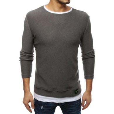 Pánský MODERN svetr tmavě šedý