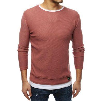 Pánský MODERN svetr růžový
