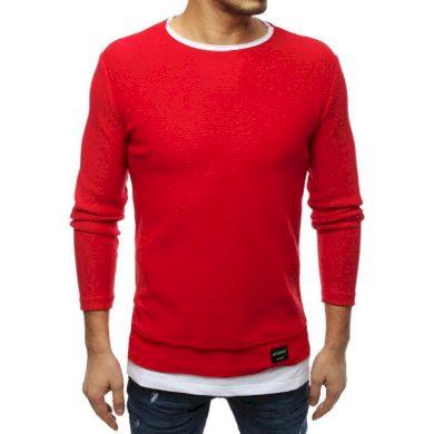Pánský MODERN svetr červený