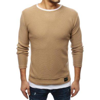 Pánský MODERN svetr hnědý