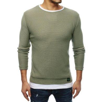 Pánský MODERN svetr khaki