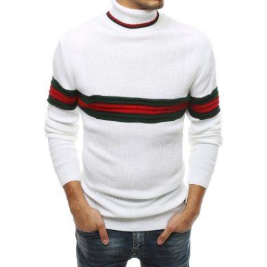 Pánský svetr bílý wx1501