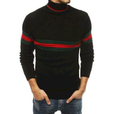Pánský svetr černý wx1502