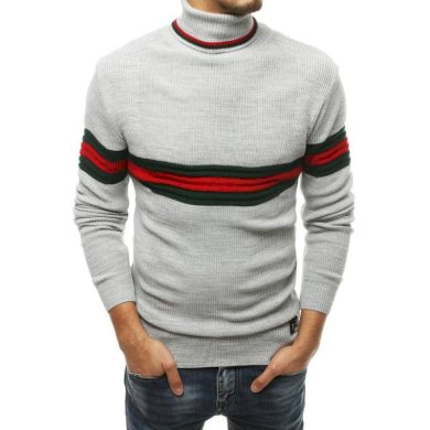Pánský svetr šedý wx1503