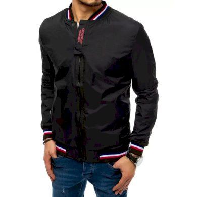Pánská jarní bunda černá ALESSANDRO