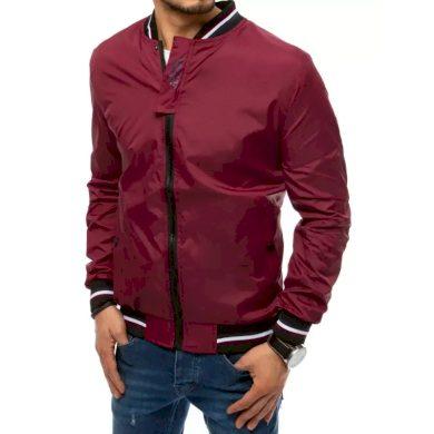 Pánská jarní bunda červená ALESSANDRO