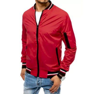 Pánská jarní bunda na zip červená STARTER