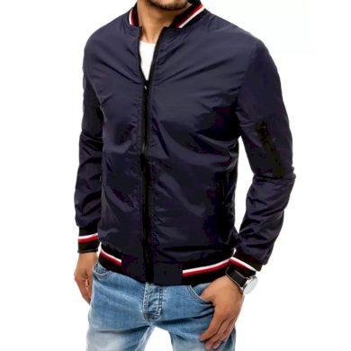 Pánská jarní bunda na zip modrá STARTER