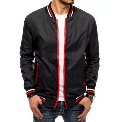 Pánská jarní bunda na zip černá START