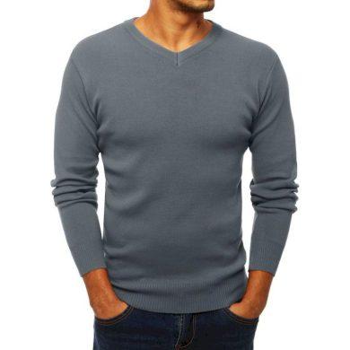 Pánský stylový svetr šedý