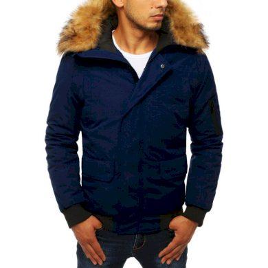 Zimní pánská bunda WINTER tmavě modrá