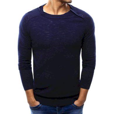 Pánský stylový svetr tmavě modrý