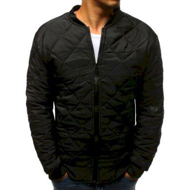Pánská STYLE bunda prošívaná bomber jacket černá