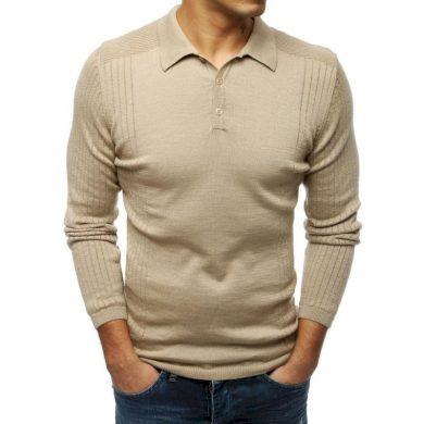Pánský MODERN svetr béžový