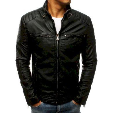 Pánská bunda koženka černá TX3265