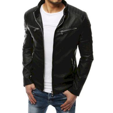 Pánská bunda koženka černá TX3253