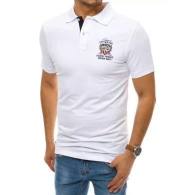 Pánské tričko s potiskem bílé COUNTRY
