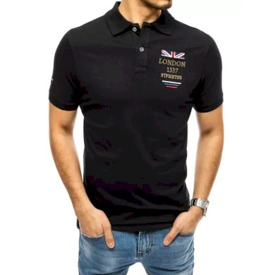Pánské tričko s potiskem černé LONDON