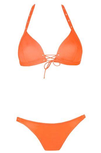 Dvoudílné bikiny Catherine oranžové